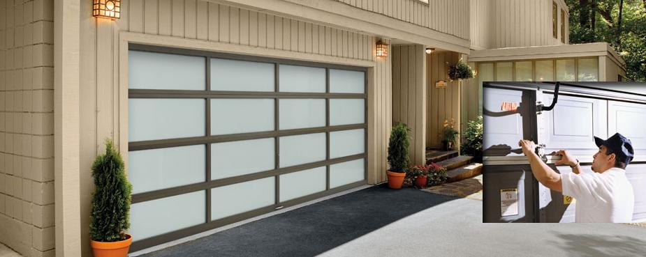 Garage door repair company in Orleans